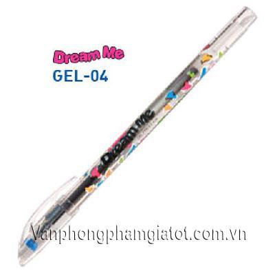 Bút gel TL Gel-04 đỏ